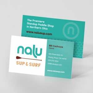2 side business cards
